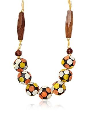 Sándalo Collar Diana (Naranja)