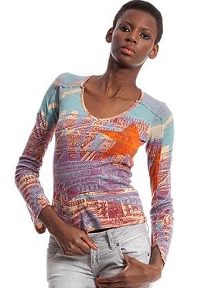 Custo Camiseta blakis danger (Multicolor)