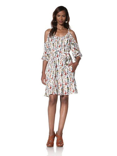 Dallin Chase Women's Ignacio Scoop Neck Dress (Multi/Print)