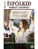 Ísfólkið 34 - Konan á ströndinni (Sagan um Ísfólkið) (Icelandic Edition)