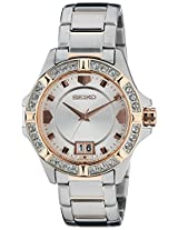 Seiko Lord Analog White Dial Women's Watch - SUR804P1