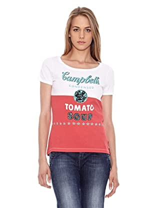 Pepe Jeans London Camiseta Lydon (Rojo)