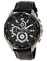 Casio Edifice Stopwatch Chronograph Black Dial Men's Watch - EFR-539L-1AVUDF (EX193)
