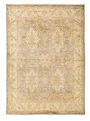 Darya Rugs Oushak One-of-a-Kind Rug, Ivory, 4' 10