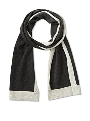 Cullen Men's Colorblock Scarf (Charcoal/Frost)