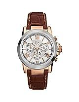 Gc Analog Silver Dial Men's Watch - I41501G1