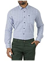 London Fog Men's Casual Shirt (8907174006727_Multicolor_Large)