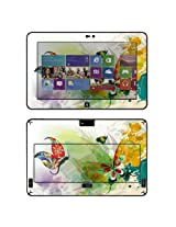 Decalrus - Matte Protective Decal Skin skins Sticker for Dell Latitude 10 Tablet with 10.1 screen (IMPORTANT: Must view IDENTIFY image for correct model) case cover Latitude10-153