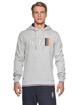 Datch Gym Sudadera Massimo (Gris Jaspeado)