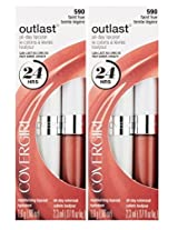 CoverGirl Outlast All Day Lipcolor #590 Faint Hue 2 Pack