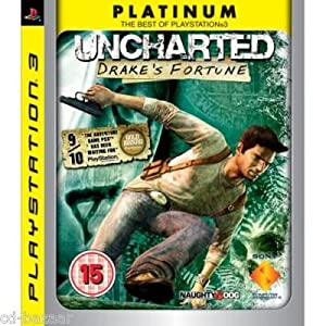 Uncharted 1 Drake's Fortune (Sony PlayStation 3 PS3 Game)