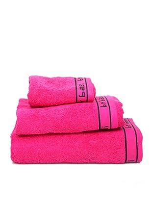 Armand Basi Estuche de toallas Logo Logo (Fucsia)