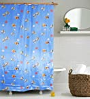 Home Candy Under Water Theme Shower Curtain