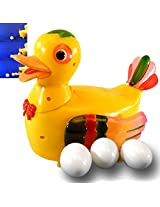 Funny Duck Gift Lays Eggs Light Sound Battery Operated Toy Toys Kids Gift -11
