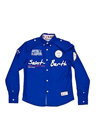 Geographical Norway Camisa Manga Larga Zappy (Azul Royal)