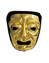 300 Immortal Mask with Hood - Yellow - Frightening Cosplay Face Halloween