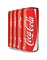 Coca-Cola Can 300ml (Pack of 4)