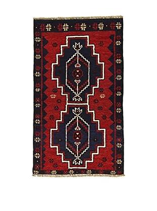 Eden Teppich Beluchistan blau/rot 77 x 134 cm