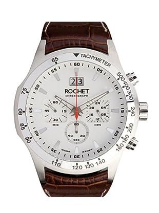 Rochet W404025 - Reloj de Caballero movimiento cuarzo con correa de piel Marrón