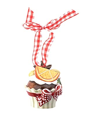 Villeroy & Boch Winter Bakery Decoration Hängeornament Cupcake, orange