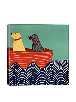 Stephen Huneck Friendship 2A Gallery Wrapped Canvas Print