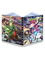 Ultra Pro Pokemon Card 4 Pocket Binder Album Portfolio featuring Mega Sceptile Ex and Hoopa EX