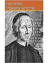Entretien d'un philosophe chrétien, et d'un philosophe chinois, sur l'existence et la nature de Dieu (French Edition)