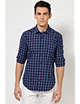 Blue Casual Shirts Basics