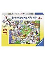 Ravensburger Busy City Puzzle (35-Piece)