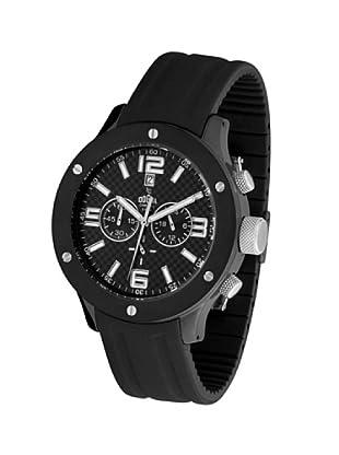Dogma CRONO302 - Reloj de Caballero movimiento de quarzo con correa de caucho negro