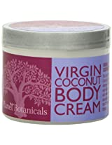 Planet Botanicals Body Cream - Virgin Coconut - 4 Ounce
