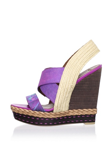 Boutique 9 Women's Isabella Sandal (Purple Multi)