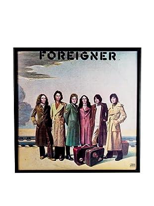 Foreigner: Foreigner Framed Album Cover