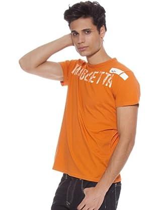 Guru Camiseta Letras (Naranja)