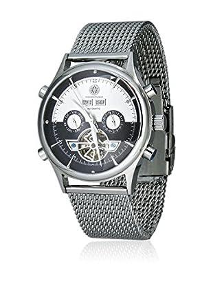 Constantin Durmont Reloj automático Unisex CD-BATO-AT-STM-STST-BKWH  44 mm