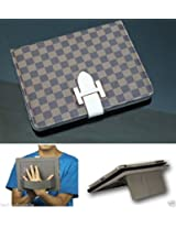 Wallet Style Leather Stand Carry Case Cover For APPLE iPad 2/3/4 iPad 3 iPad 4 .