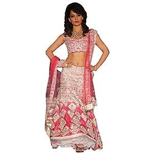 Kangana Ranaut Pink Royal Lehenga Choli