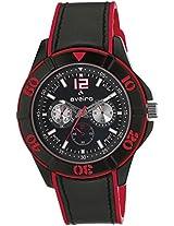 Aveiro Analog Black Dial Men's Watch - AV72BLKRD