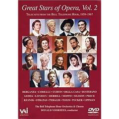 輸入盤DVD Great Stars of Opera 2のAmazonの商品頁を開く