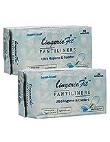 Healthbuddy Lingerie fit Pantiliners-2 packs of 30 pcs each