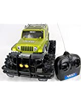 Nikko Jeep Rescue Green