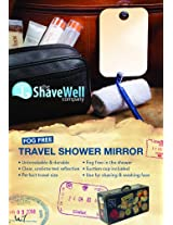 The Shave Well Company Fog Free Travel Mirror