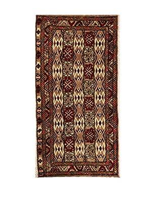 RugSense Alfombra Persian Kalat Beige/Marrón/Rojo 110 x 55 cm