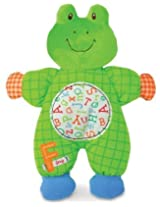 "Kids Preferred Smarty Kids Comfort Cuddly Blanky, ""F"" Is For Frog (Discontinued By Manufacturer) By Kids Preferred"