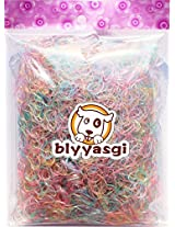1 Bag Kid Girl Hair Holder Band Elastic Rubber Bands