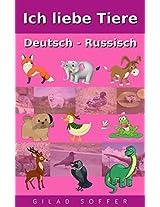 Ich liebe Tiere Deutsch - Schwedisch (ChitChat WorldWide) (German Edition)