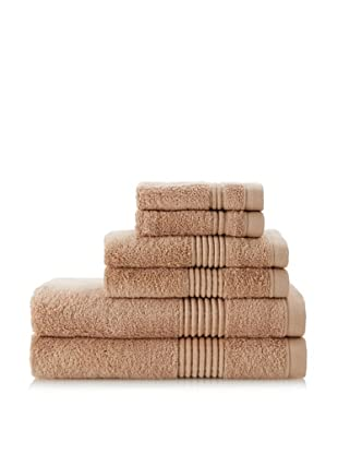 Chortex Ultimate 6-Piece Towel Set, Cappuccino