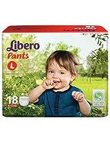 Libero Baby Pants Large - 18pcs (9 - 14kgs)