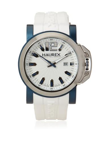 Haurex Italy Men's 1D370UWB San Marco White Stainless Steel Watch