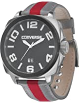 Converse Andover Red And Grey Nylon Mens Watch Vr036-065